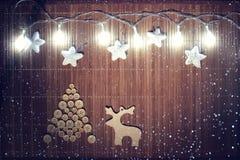 Composición de la Navidad Imagen de archivo