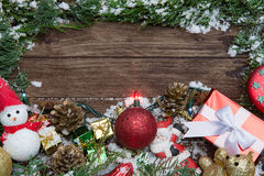 Composición de la Navidad Fotografía de archivo