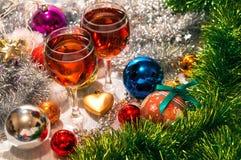 Composición de la Navidad Fotografía de archivo libre de regalías