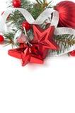 Composición de la Navidad con el espacio para el texto Imagenes de archivo