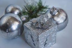 Composición de la Navidad y del Año Nuevo Imagen de archivo