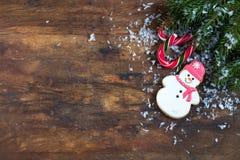 Composición de la oscuridad de la Navidad y del Año Nuevo Fotos de archivo libres de regalías