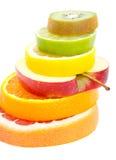 Composición de las frutas Fotos de archivo libres de regalías