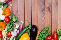 Composición de las verduras Fotos de archivo libres de regalías