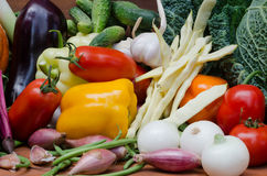 Composición de las verduras Foto de archivo