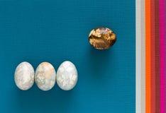 Composición de los egs de Pascua Imagen de archivo