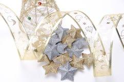 Composición de los items de la Navidad Foto de archivo libre de regalías