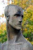 Composición de madera de la escultura por E. Chubarov Imagen de archivo