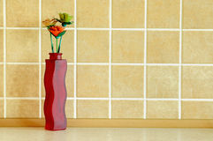 Composición de madera de las flores Imagenes de archivo