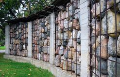 Composición de piedra de la escultura por E. Chubarov Fotografía de archivo libre de regalías