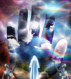 Composición de Sci Fi de la fantasía Foto de archivo libre de regalías