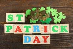 Composición de St Patrick Foto de archivo
