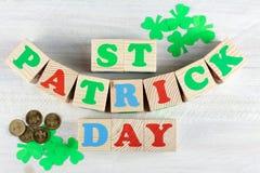 Composición de St Patrick Foto de archivo libre de regalías