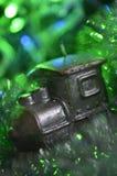 Composición de una vela y de una malla Foto de archivo libre de regalías