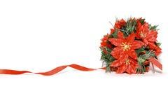 Composición decorativa de la Navidad imagen de archivo