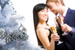 Composición del Año Nuevo Imagen de archivo libre de regalías