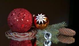 Composición del Año Nuevo. Fotografía de archivo libre de regalías