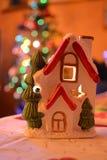Composición del Año Nuevo y decoración de la Navidad Fotografía de archivo