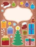 Composición del asunto de la Navidad   Fotos de archivo libres de regalías