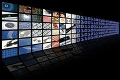 Composición del asunto y de la tecnología Fotografía de archivo libre de regalías