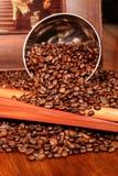 Composición del café Foto de archivo libre de regalías