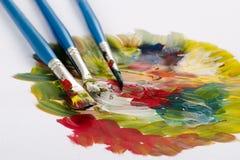 Composición del color Foto de archivo libre de regalías