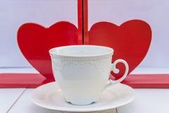 Composición del día de tarjetas del día de San Valentín Fotos de archivo