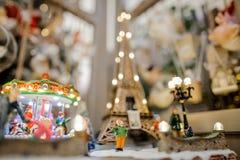 Composición del juguete de la decoración de la Navidad en estilo francés Imagenes de archivo