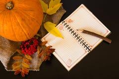 Composición del otoño de frutas y verduras en un backgroun blanco Fotografía de archivo