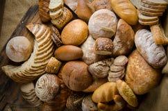 Composición del pan Fotografía de archivo libre de regalías