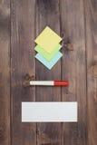 Composición del papel Fotos de archivo libres de regalías