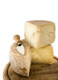 Composición del queso y del cuchillo Imagen de archivo libre de regalías