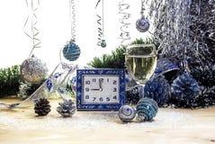 Composición del ` s de la Navidad y del Año Nuevo Imagenes de archivo