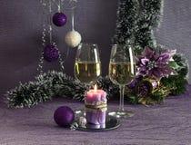Composición del ` s de la Navidad y del Año Nuevo Imagen de archivo