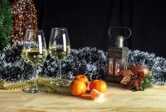 Composición del ` s de la Navidad y del Año Nuevo Fotos de archivo libres de regalías