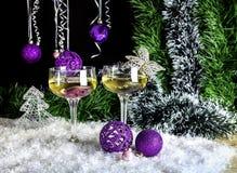 Composición del ` s de la Navidad y del Año Nuevo Fotografía de archivo