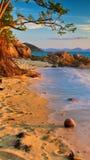 Composición del wonderfull de la playa Foto de archivo libre de regalías