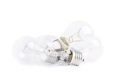 Composición eléctrica múltiple de los bulbos foto de archivo libre de regalías