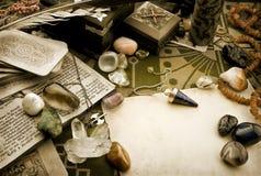 Composición esotérica Foto de archivo