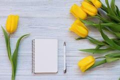 Composición festiva de la primavera Endecha plana Foto de archivo libre de regalías