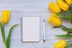 Composición festiva de la primavera Endecha plana Imagenes de archivo
