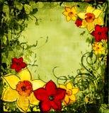 Composición floral Foto de archivo libre de regalías