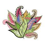 Composición floral abstracta Foto de archivo