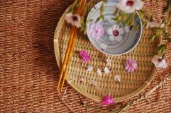 Composición floral del balneario Fotografía de archivo libre de regalías