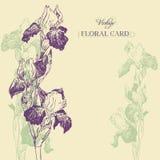 Composición floral del vintage Foto de archivo libre de regalías