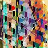 Composición geométrica abstracta Fotos de archivo
