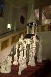 Composición gigante de la escultura de la porcelana Foto de archivo libre de regalías
