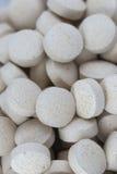 Composición gris de las píldoras Fotografía de archivo libre de regalías