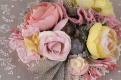 Composición hermosa de flores Imagen de archivo