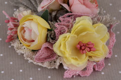 Composición hermosa de flores Imagenes de archivo